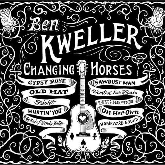 Ben Kweller CHANGING HORSES Vinyl Record - Canada Import