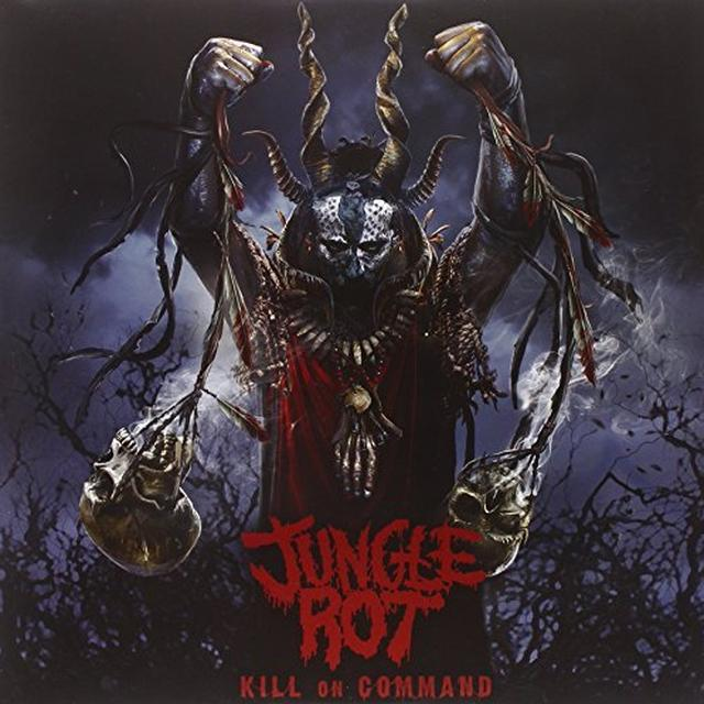 Jungle Rot KILL ON COMMAND Vinyl Record - Canada Import