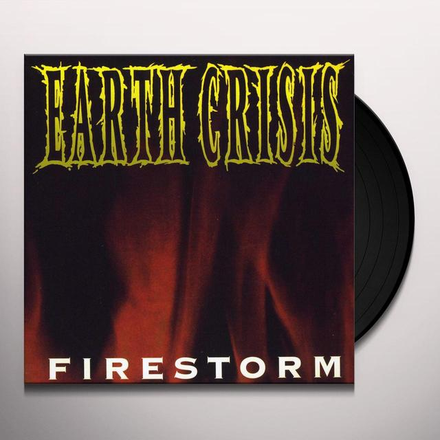 Earth Crisis FIRESTORM Vinyl Record - Canada Import