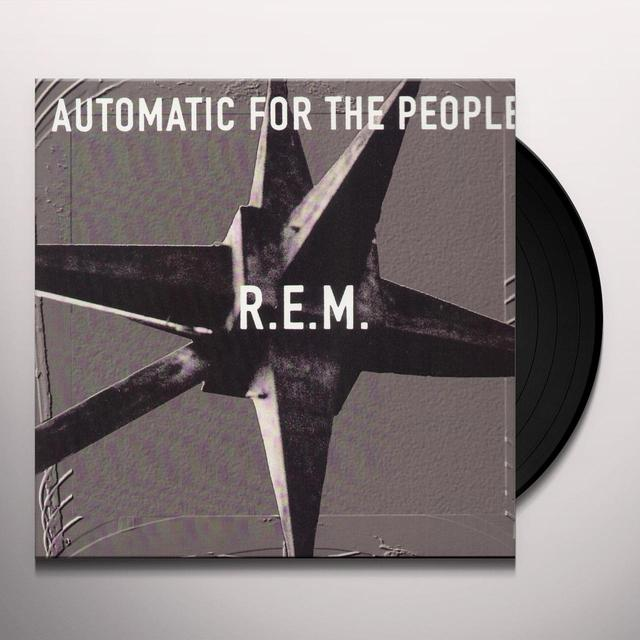 R.E.M. AUTOMATIC FOR THE PEOPLE Vinyl Record - Canada Import