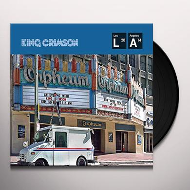 KIMG CRIMSON LIVE AT THE ORPHEUM Vinyl Record - UK Import