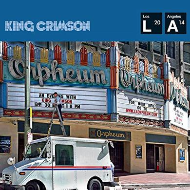 KIMG CRIMSON LIVE AT THE ORPHEUM Vinyl Record - UK Release
