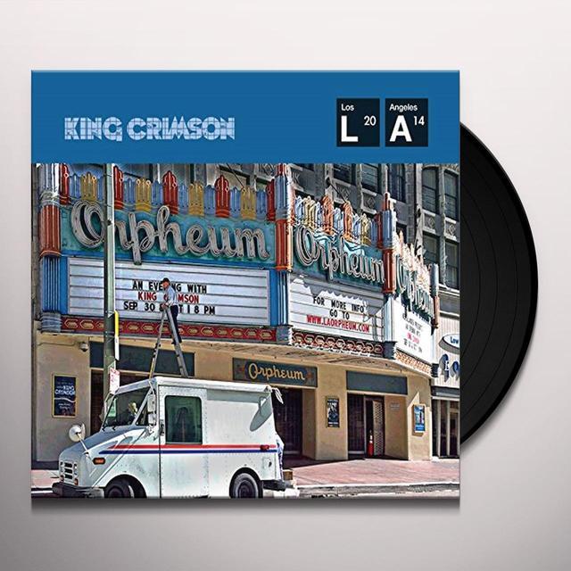 KIMG CRIMSON LIVE AT THE ORPHEUM Vinyl Record - UK Import