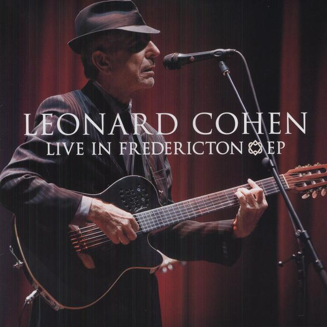 Leonard Cohen LIVE IN FREDERICTION Vinyl Record - Canada Import