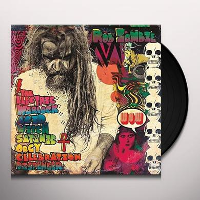 Rob Zombie ELECTRIC WARLOCK ACID WITH SATANIC ORGY Vinyl Record - Holland Import