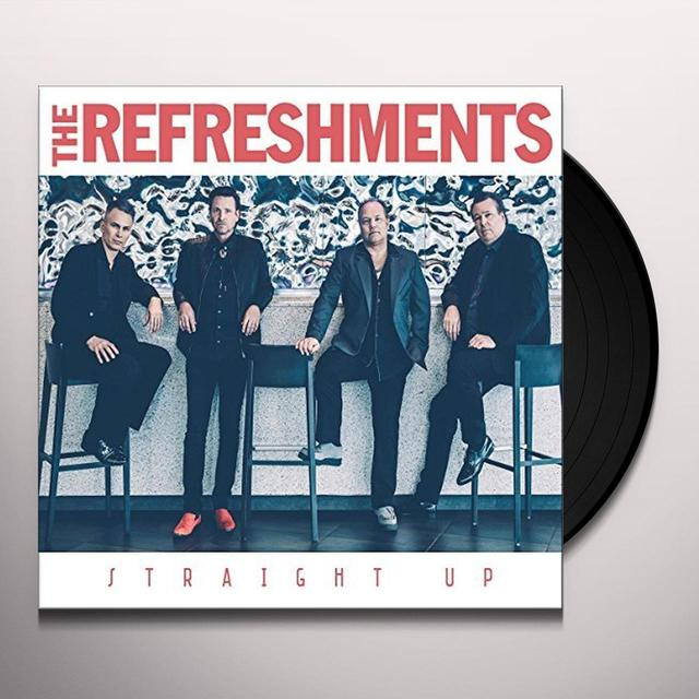 Refreshments STRAIGHT UP Vinyl Record - Holland Import