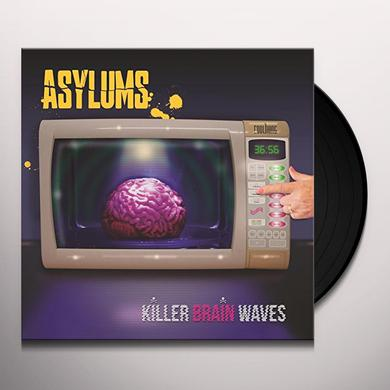 Asylums KILLER BRAIN WAVES Vinyl Record