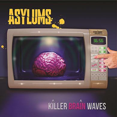 Asylums KILLER BRAIN WAVES Vinyl Record - UK Release