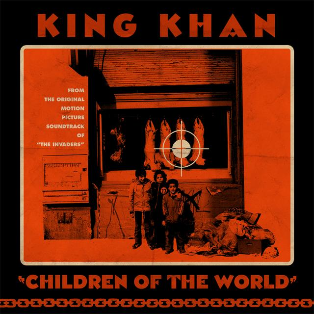 King Khan CHILDREN OF THE WORLD Vinyl Record