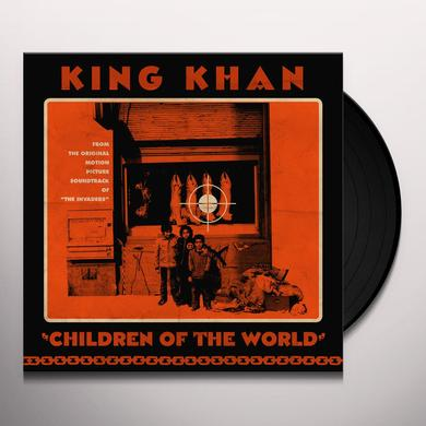 King Khan CHILDREN OF THE WORLD Vinyl Record