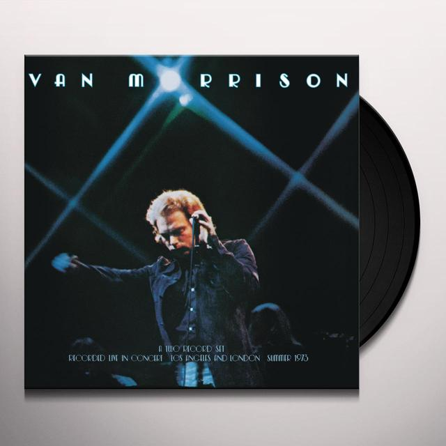 Van Morrison IT'S TOO LATE TO STOP NOW: VOLUME I Vinyl Record - Gatefold Sleeve