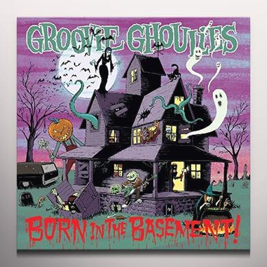 Groovie Ghoulies BORN IN THE BASEMENT Vinyl Record - Colored Vinyl, Poster, Digital Download Included
