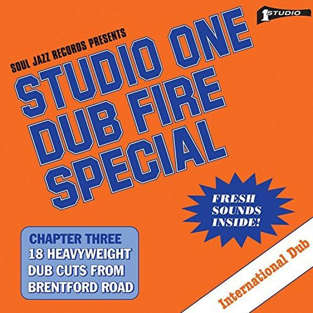 Soul Jazz Records Presents STUDIO ONE DUB FIRE SPECIAL Vinyl Record
