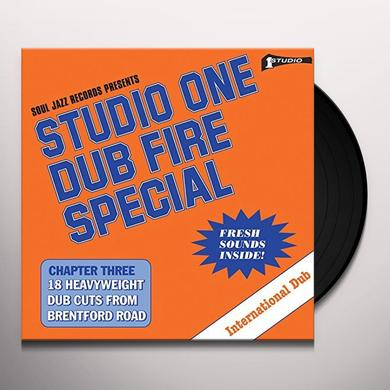 Soul Jazz Records Presents STUDIO ONE DUB FIRE SPECIAL Vinyl Record
