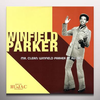 MR CLEAN: WINFIELD PARKER AT RU-JAC Vinyl Record - Colored Vinyl, Yellow Vinyl