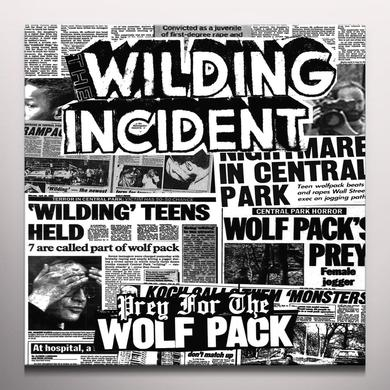 WILDING INCIDENT PREY FOR THE WOLFPACK Vinyl Record - Colored Vinyl