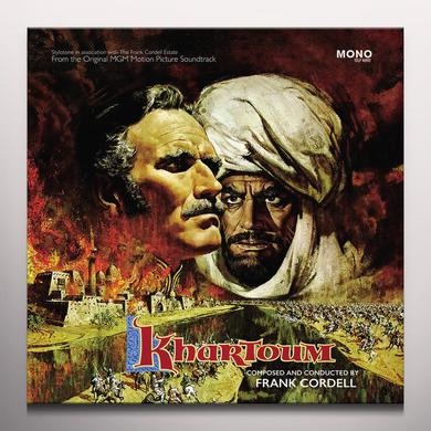 Frank Cordell KHARTOUM / O.S.T. Vinyl Record - w/CD, Gatefold Sleeve, Deluxe Edition, Poster