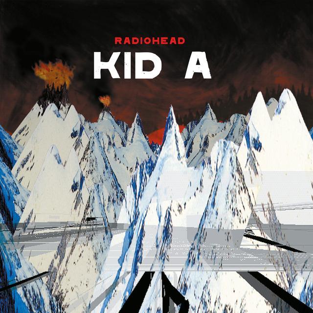 Radiohead KID A Vinyl Record - 180 Gram Pressing
