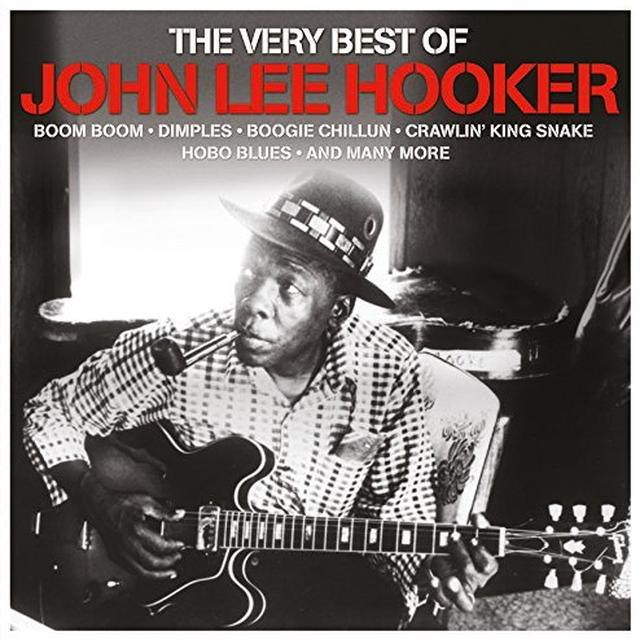 John Lee Hooker VERY BEST OF Vinyl Record - 180 Gram Pressing, UK Import