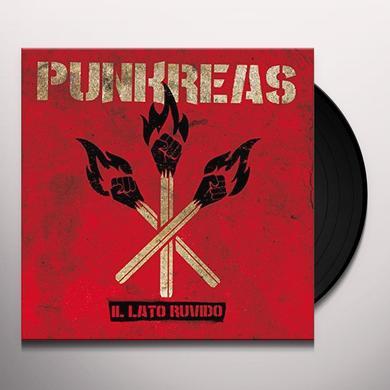 PUNKREAS IL LATO RUVIDO Vinyl Record - Italy Import