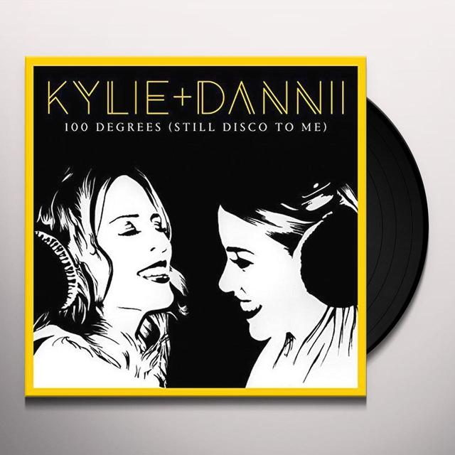 Kylie Minogue / Dannii Minogue 100 DEGREES (IT'S STILL DISCO TO ME) Vinyl Record - UK Import