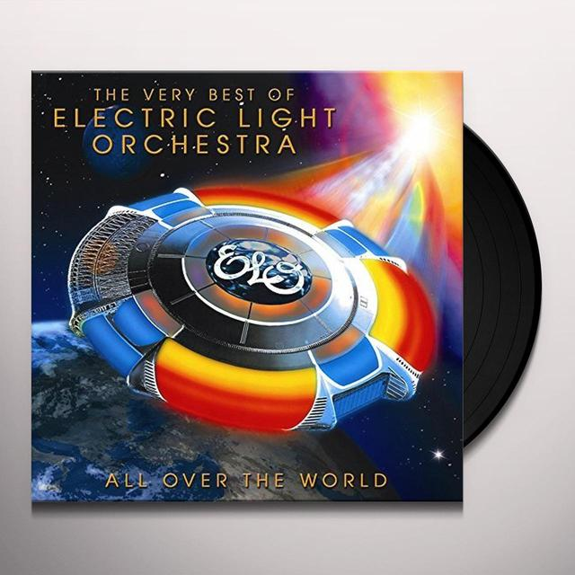 Elo ( Electric Light Orchestra ) ALL OVER THE WORLD: VERY BEST OF Vinyl Record - UK Import