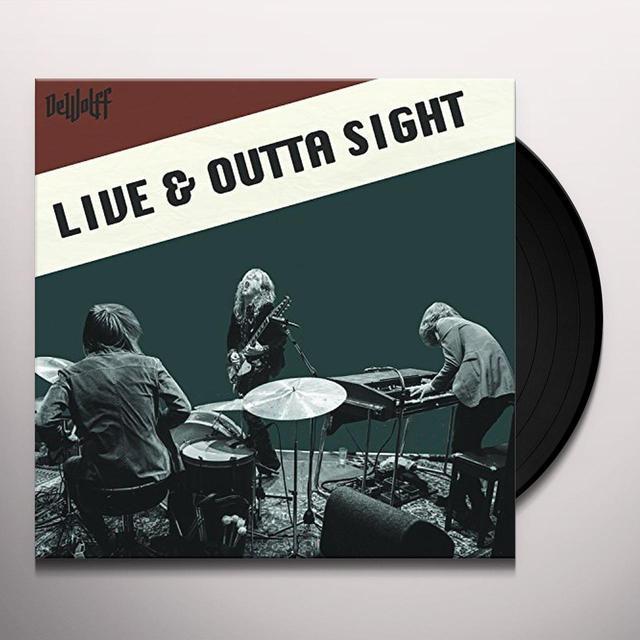 Dewolff LIVE & OUTTA SIGHT Vinyl Record - Canada Import