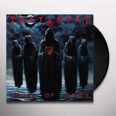 Testament SOULS OF BLACK Vinyl Record - Holland Import