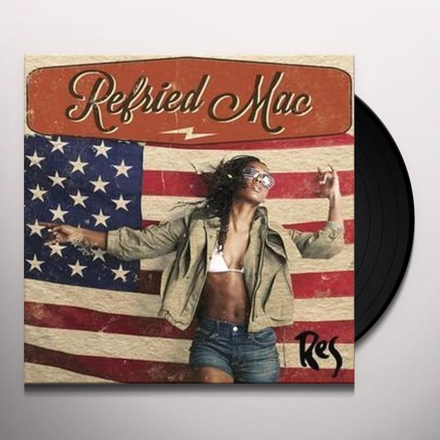 Res REFRIED MAC (SILK SCREENED) (EP) Vinyl Record