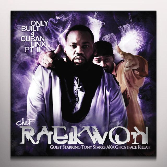 Raekwon ONLY BUILT FOR CUBAN LINX PART II Vinyl Record - Purple Vinyl