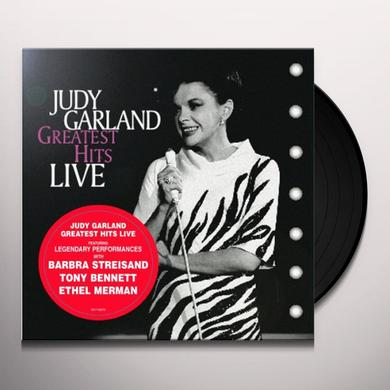 Judy Garland GREATEST HITS LIVE Vinyl Record