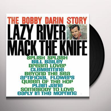 BOBBY DARIN STORY-GREATEST HITS Vinyl Record - Gatefold Sleeve, 180 Gram Pressing