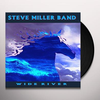 Steve Miller Band WIDE RIVER Vinyl Record