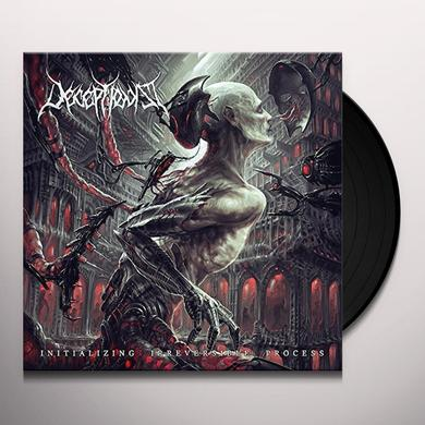 DECEPTIONIST INITIALIZING IRREVERSIBLE PROCESS Vinyl Record