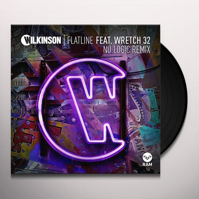 Wilkinson FLATLINE FEAT WRETCH 32/NU: LOGIC REMIX Vinyl Record - UK Import