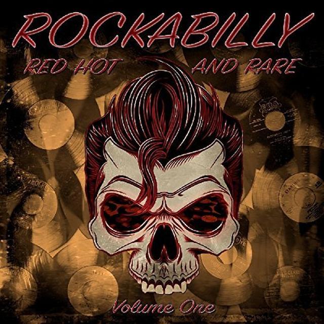 ROCKABILLY RED HOT & RARE VOL 1 / VARIOUS (COLV) ROCKABILLY RED HOT & RARE VOL 1 / VARIOUS Vinyl Record - Colored Vinyl