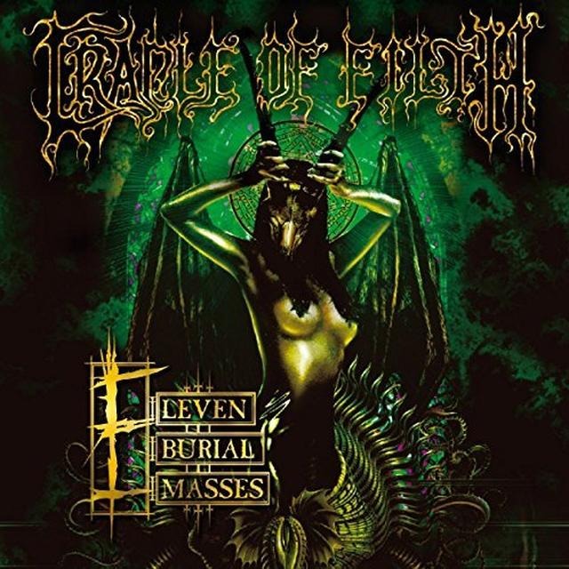 Cradle Of Filth ELEVEN BURIAL MASSES Vinyl Record - UK Import