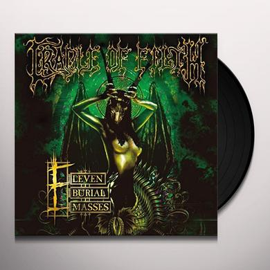 Cradle Of Filth ELEVEN BURIAL MASSES Vinyl Record