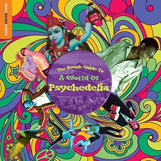 ROUGH GUIDE TO A WORLD OF PSYCHEDELIA / VARIOUS Vinyl Record