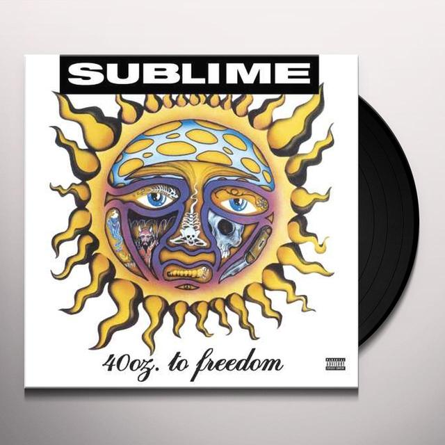 Sublime 40OZ TO FREEDOM   (LENT) Vinyl Record - Gatefold Sleeve, Limited Edition
