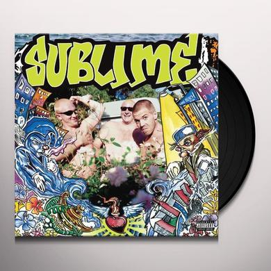 Sublime SECOND HAND SMOKE Vinyl Record - Gatefold Sleeve