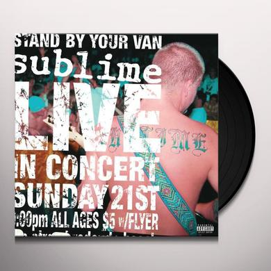 Sublime STAND BY YOUR VAN Vinyl Record