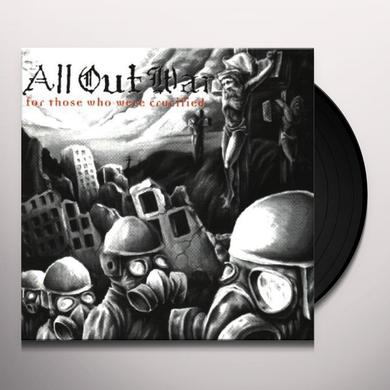 All Out War FOR THOSE WHO WERE CRUCIFIED Vinyl Record
