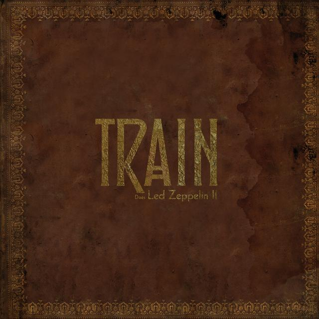 Train DOES LED ZEPPELIN II Vinyl Record - Digital Download Included