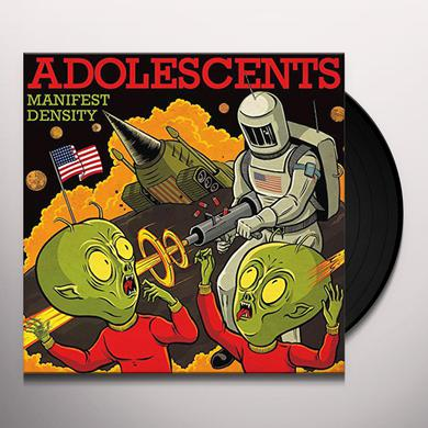 Adolescents MANIFEST DESTINY Vinyl Record
