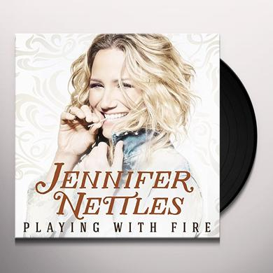 Jennifer Nettles PLAYING WITH FIRE Vinyl Record