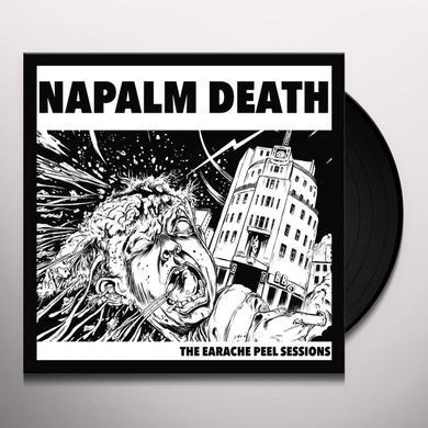 Napalm Death EARACHE PEEL SESSIONS Vinyl Record