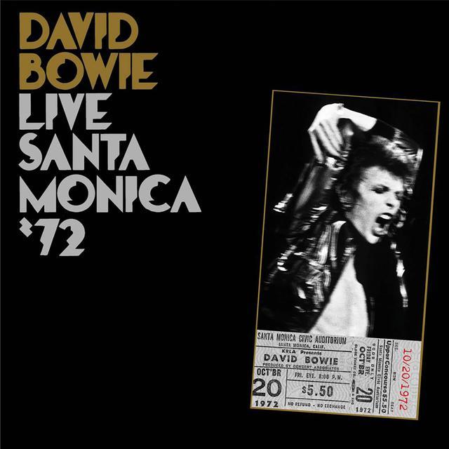 David Bowie LIVE SANTA MONICA 72 Vinyl Record
