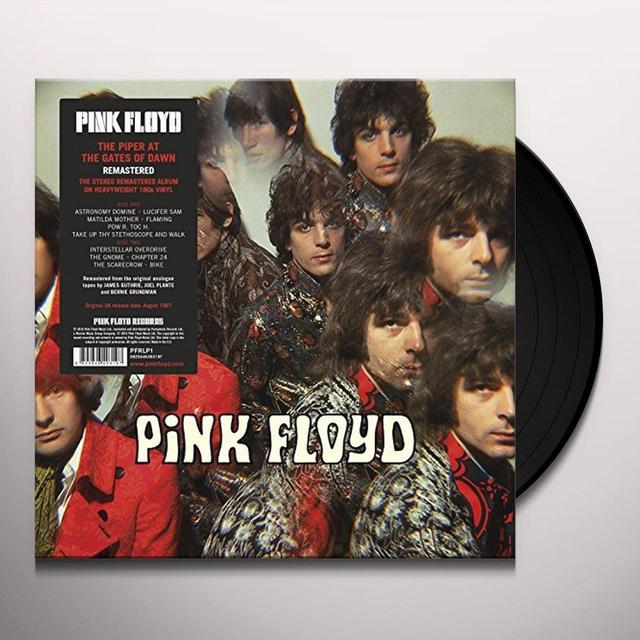 Pink Floyd PIPER AT THE GATES OF DAWN Vinyl Record - 180 Gram Pressing