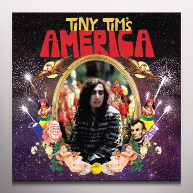 TINY TIM'S AMERICA Vinyl Record - Black Vinyl, Blue Vinyl, Limited Edition, Red Vinyl, White Vinyl